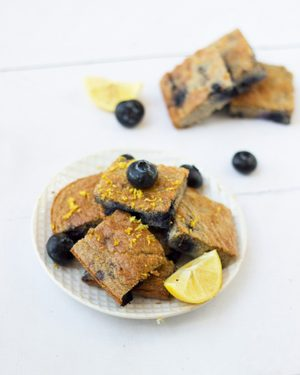 Post blueberry lemon zest breakfast cake recipe